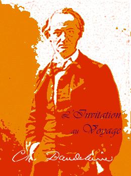 LInvitation au voyage de Charles Baudelaire Couverture