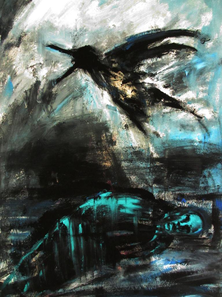 """Chant de mort"" d'Arnaud Martin"
